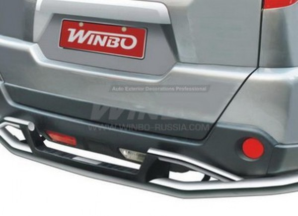 защита бампера winbo nissan x-trail