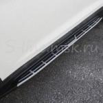 Пороги Mobis Style на Hyundai Tucson New (Хендай Таксон Нью)