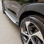 Подножки OEM BMW Style на Hyundai Tucson New (Хендай Туссан Нью)